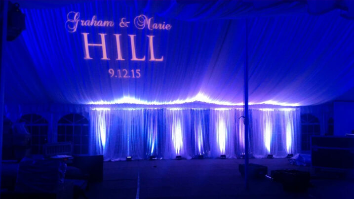 Graham and Marie's gobo design