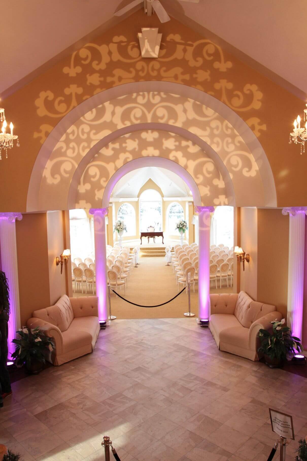 Wedding Pavilion gobo design